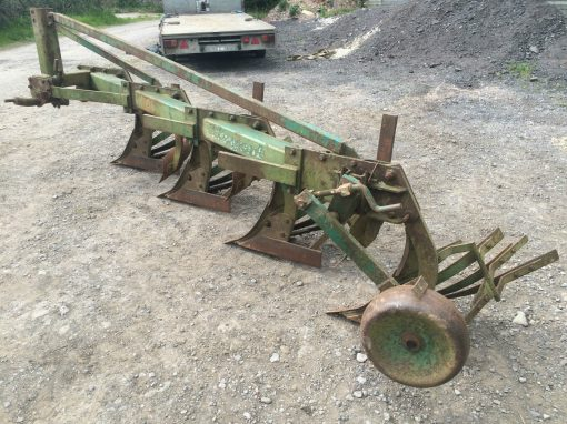 Regent Four Furrow Conventional Plough Slatted Boards