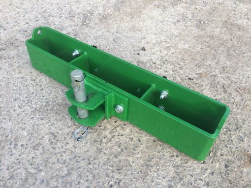 John Deere Compact Tractor Weight Frame With Tow Bracket And Pin