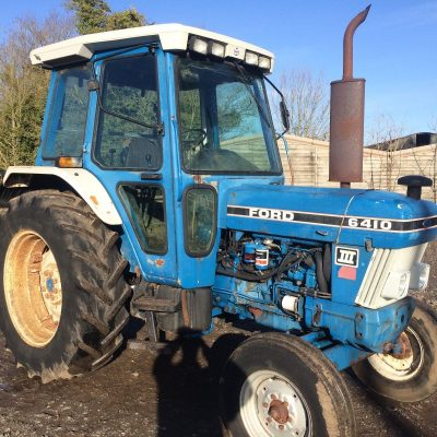 Ford 6410 Super Q Cab 2wd Series 3 Dual Power Tractor